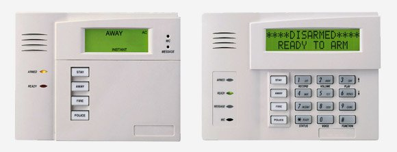 Honeywell Vista business security alarm system