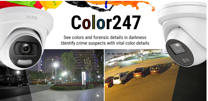 Color IP cameras