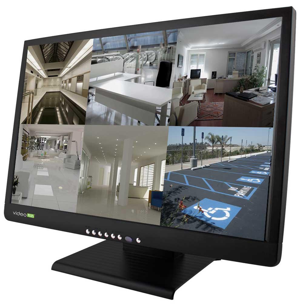 Multiplex video security monitor