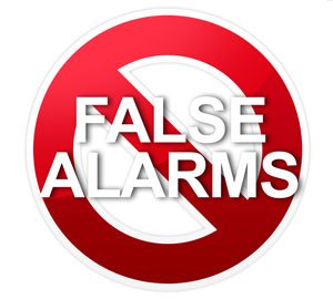 prevent false alarms
