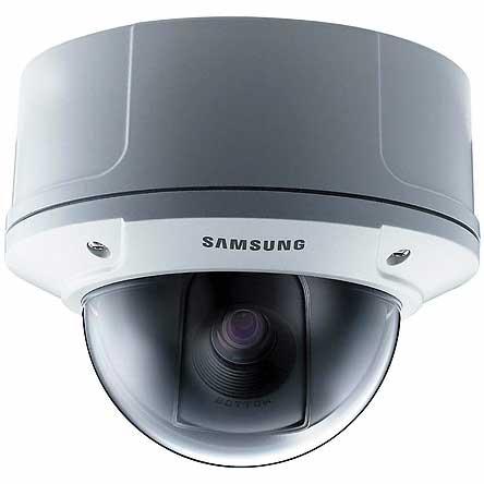 Samsung white dome camera