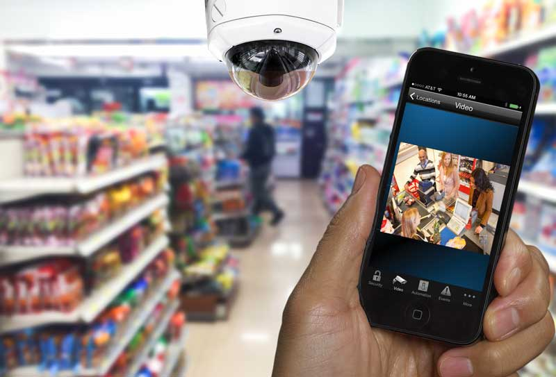 Security camera systems for small business
